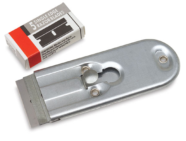 Hand-Held Scraper with Blades