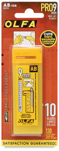 Replacement Blades, Pkg of 10 Strips
