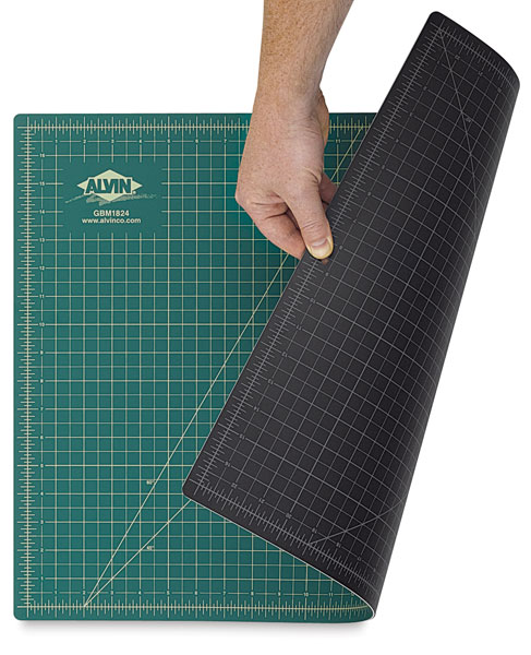 Cutting Mat, Green/Black