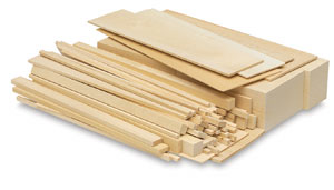 Basswood Pieces