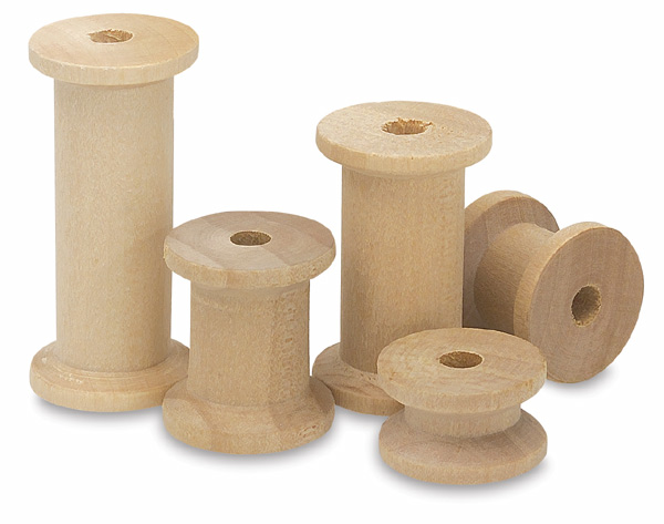Wood Spools, Pkg of 60