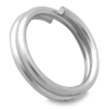 Split Jump Ring, Silver Finish
