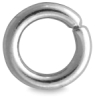 Jump Ring, 4 mm, Silver Finish