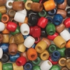 Wooden Barrel Beads