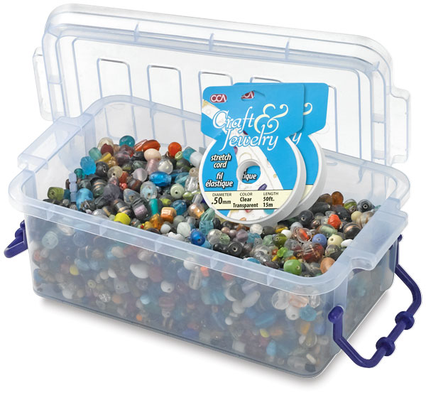 Glass Bead Assortment, 5 lb