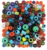 Glass Pony Beads