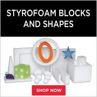 Styrofoam Blocks and Shapes
