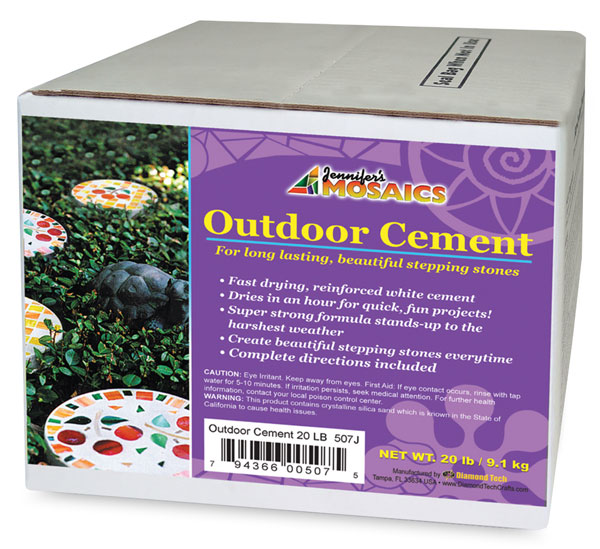 Mosaic Stone Outdoor Cement