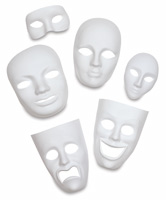 Creativity Street Plastic Face Masks