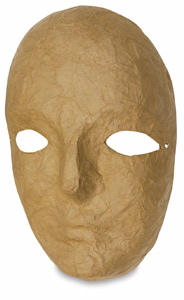 Papier Mâché Mask, Full
