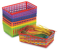 Roylco Weaving Baskets Class Pack
