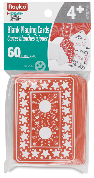 Small Blank Playing Cards