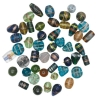 Gold Stone Glass Bead Assortments