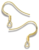 Gold Fish Hook, Pkg of 6
