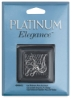 Platinum Fish Hook, Pkg of 6
