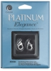 Platinum Lobster Claw, Pkg of 2