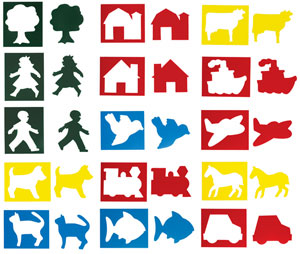 Child's First Stencil Set, Pack of 15