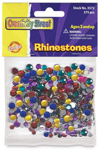Rhinestones, Package of 375 Pieces