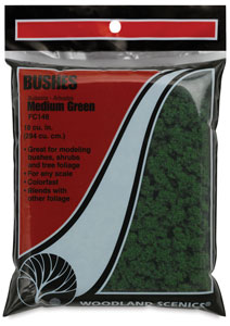 Bushes, Medium Green