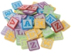 Creativity Street WonderFoam Alphabet Block Foam Stickers