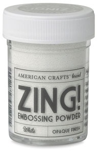 Embossing Powder, Opaque White