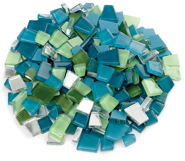 61913 1051 Crafter S Cut Pre Cut Glass Mosaic Tiles
