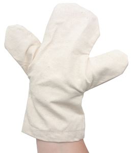 Canvas Hand Puppets, w/Body, Pkg of 6