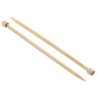 Clover Takumi Bamboo Straight Knitting Needles