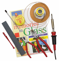 Jennifer's Mosaics Stained Glass Class Kit