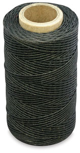 Black Waxed Thread