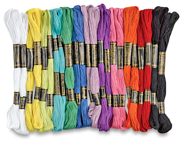 Embroidery Thread, 24 skeins