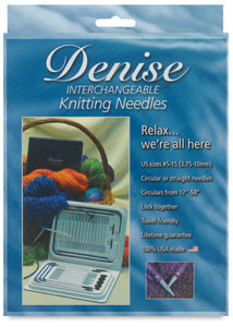 Interchangeable Knitting Needles Kit
