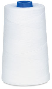 Spun Dee Thread, White