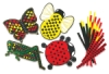Bug Weaving Mats, Pkg of 24