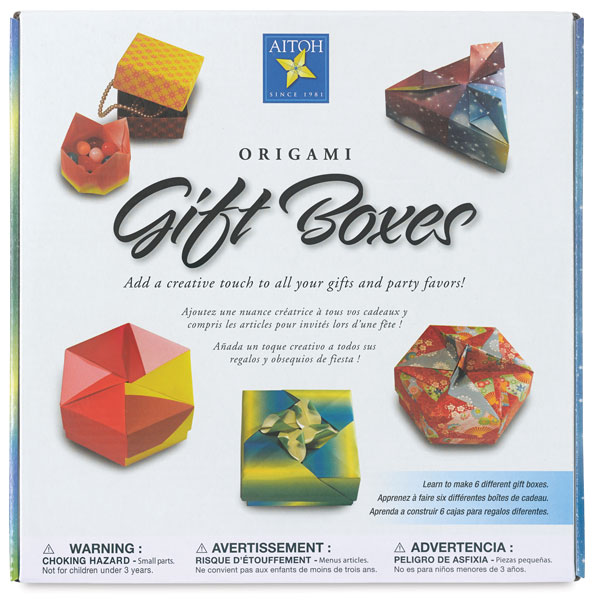 Origami Gift Boxes Kit