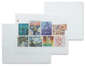 Fine Art Collection Embossed Paper Set