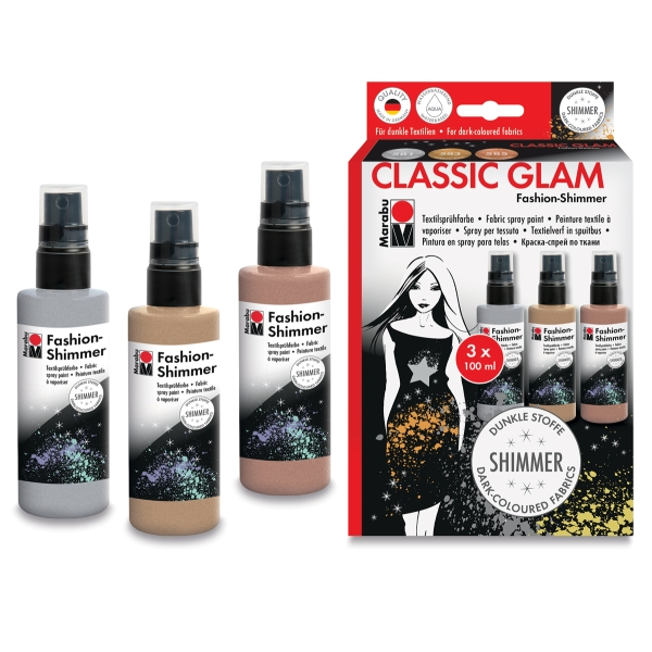 Fashion Shimmer Spray, Classic Glam Set