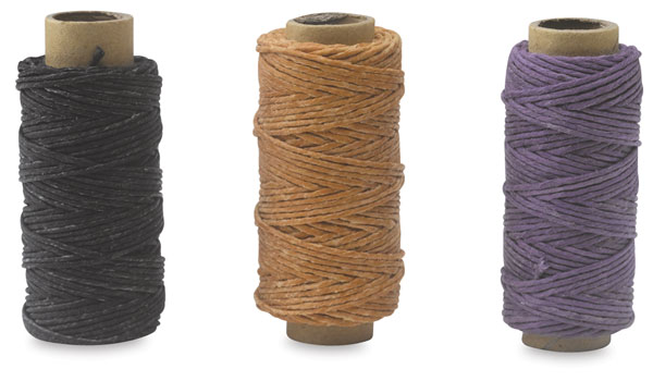 Basic Pack, Waxed Linen Thread, Pkg of 3 Spools