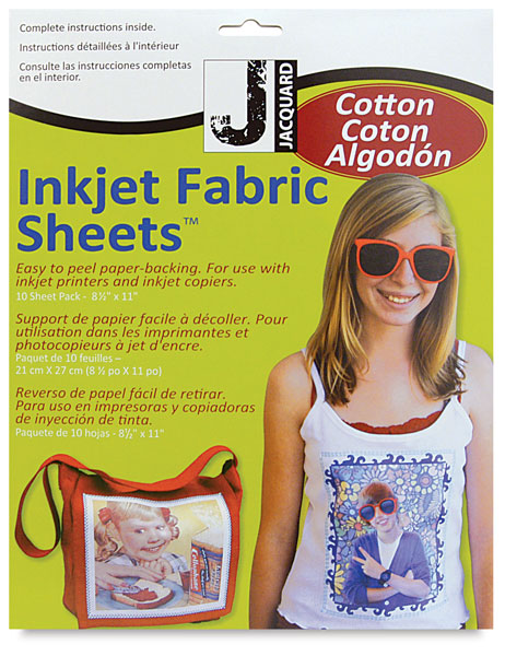 Cotton Inkjet Fabric Kit, Pkg of 10