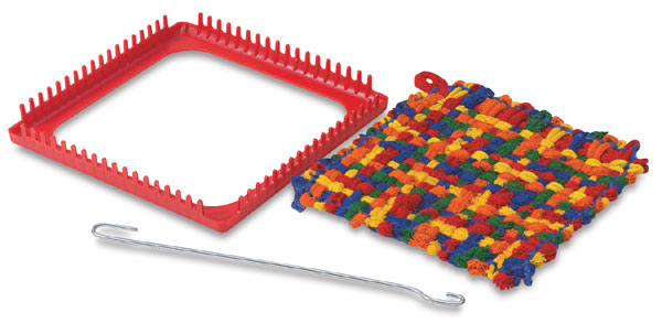 Plastic Pot Holder Loom