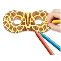 Embossed Paper Masks, Pkg of 24
