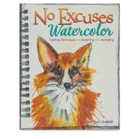 No Excuses Watercolor