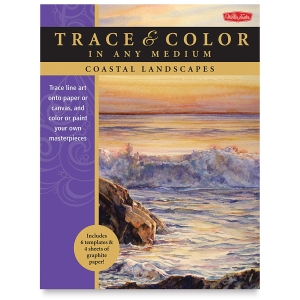Walter Foster Trace and Color Series