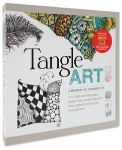 Tangle Art: A Meditative Drawing Kit