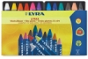 Lyra Lyrax Wax-Giant Crayons, Set of 12