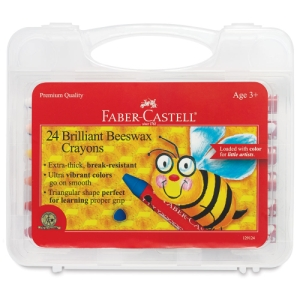 Jumbo Beeswax Crayons, Set of 24
