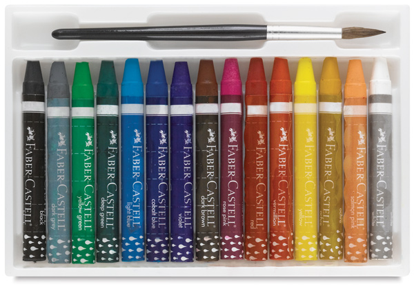 Watercolor Crayons, Set of 15