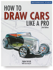 How to Draw Cars Like a Pro,<br>2nd Edition
