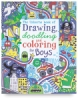 The Usborne Book of Drawing, Doodling, and Coloring for Boys