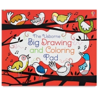 The Usborne Big Drawing and Coloring Pad